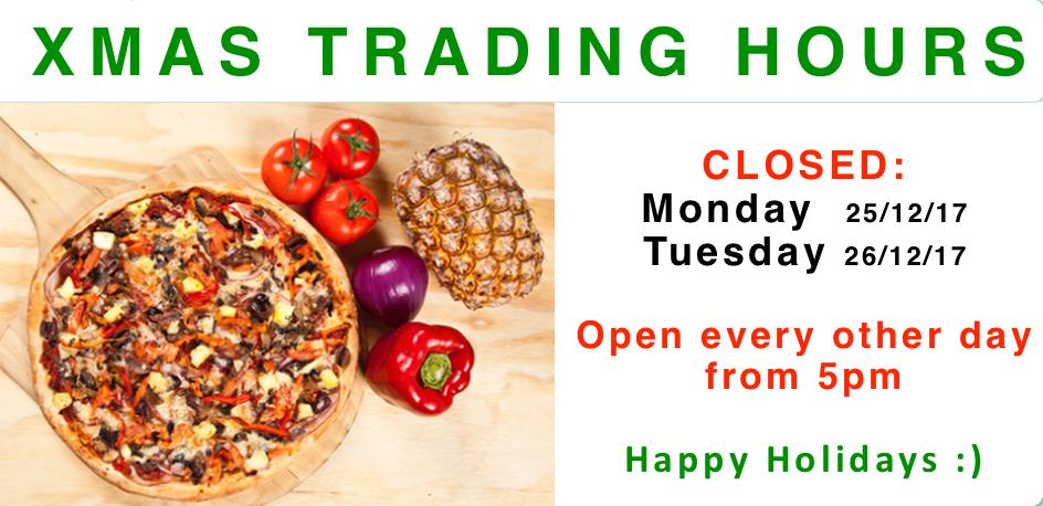 Xmas trading hours