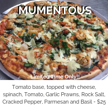 Pizza of the month
